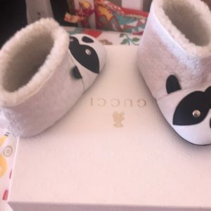 Gucci baby booties